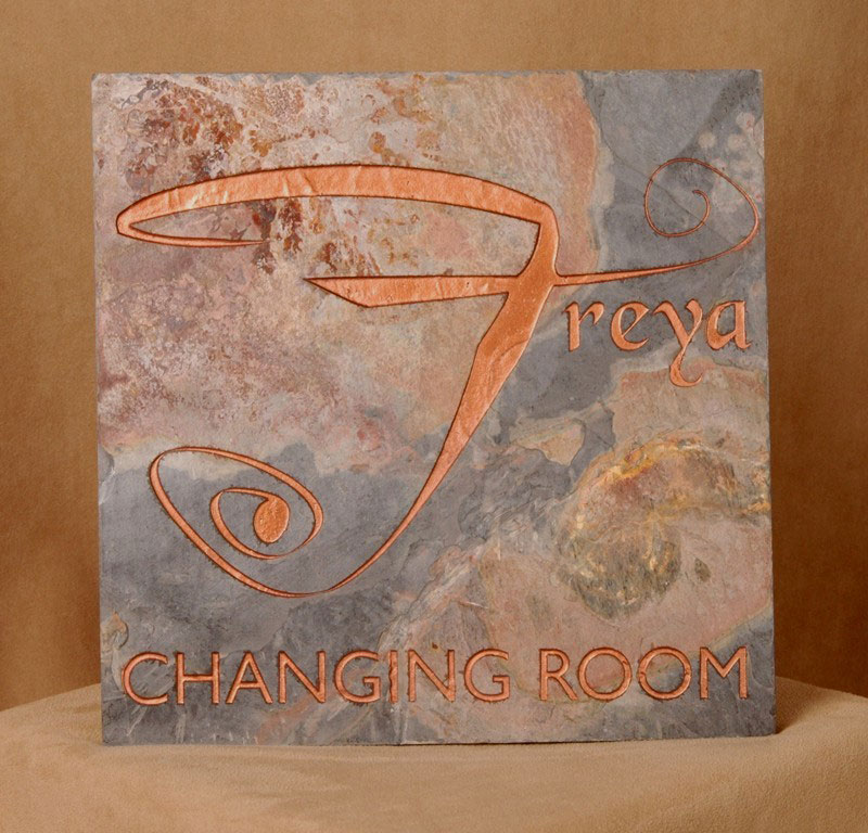 Laser Cutting Inc Slate Tile Laser Engraved And Painted