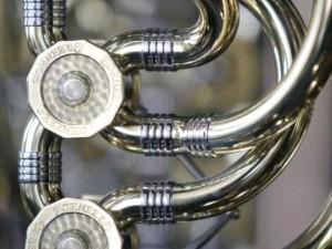 Engraved Brass Caps for Trombones