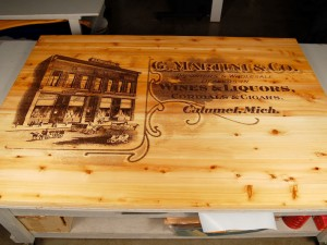 Laser Engraved Wood Signs