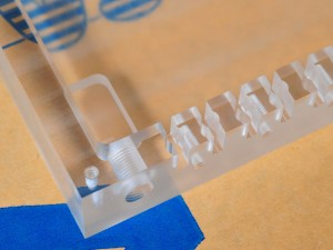 Milled Acrylic Parts & Services
