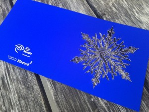 Laser Cut Greeting Card