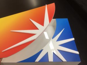 Acrylic Fabricated Boxes with Direct UV Print